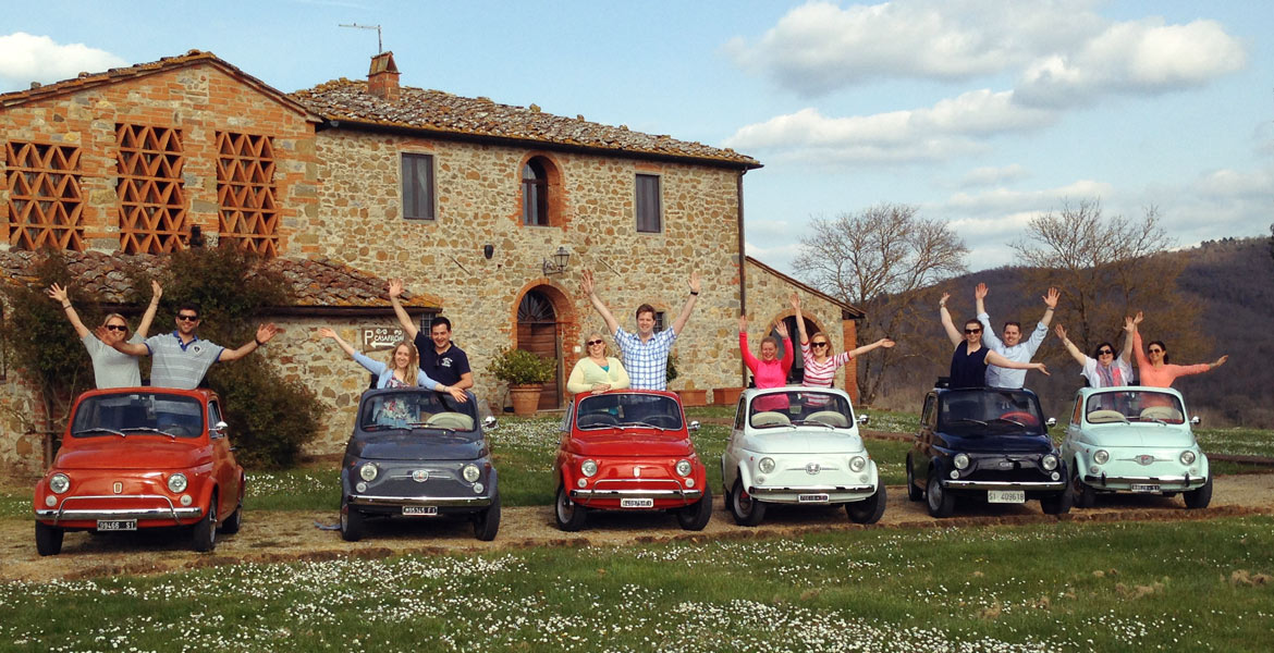 The Proper Tuscan Getaway: Touring Italy In The Vintage Fiat 500