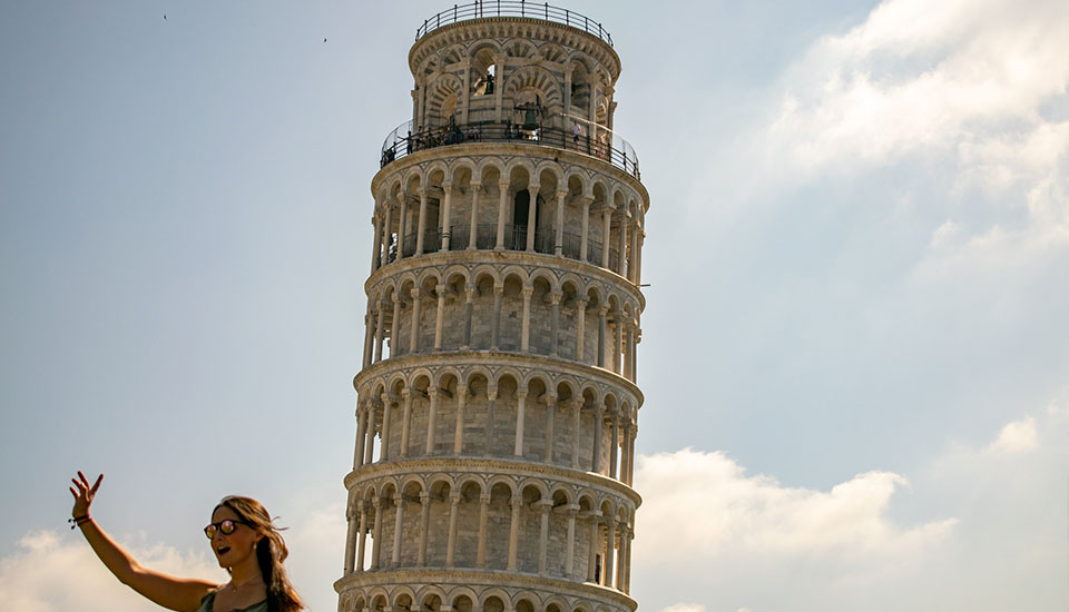 Visit the Leaning Tower in Pisa